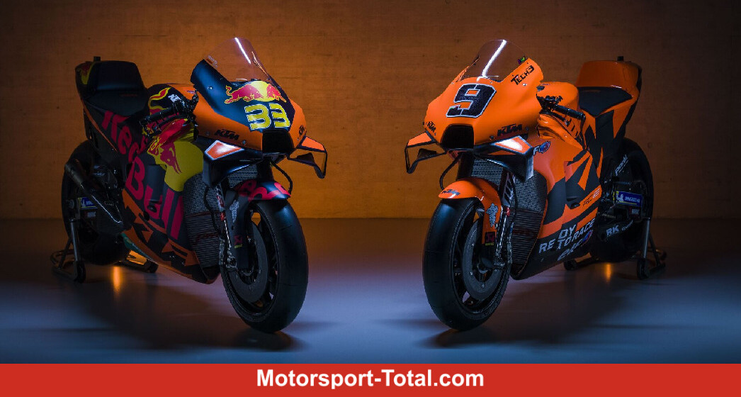 MotoGP 2021: KTM präsentiert beide Teams, neue Farben bei Tech 3 - Motorsport-Total.com