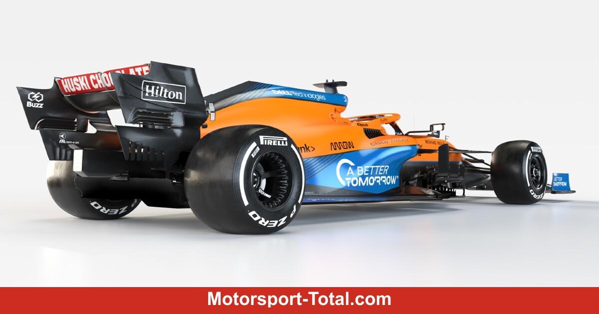 Warum der Mercedes-Stern am McLaren MCL35M fehlt - Motorsport-Total.com