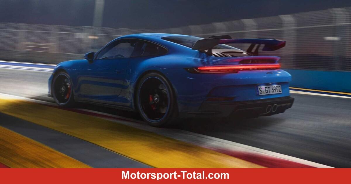 vor 22 St. Porsche 911 GT3 (2021): Nordschleifenzeit unter 7 Minuten! - Motorsport-Total.com