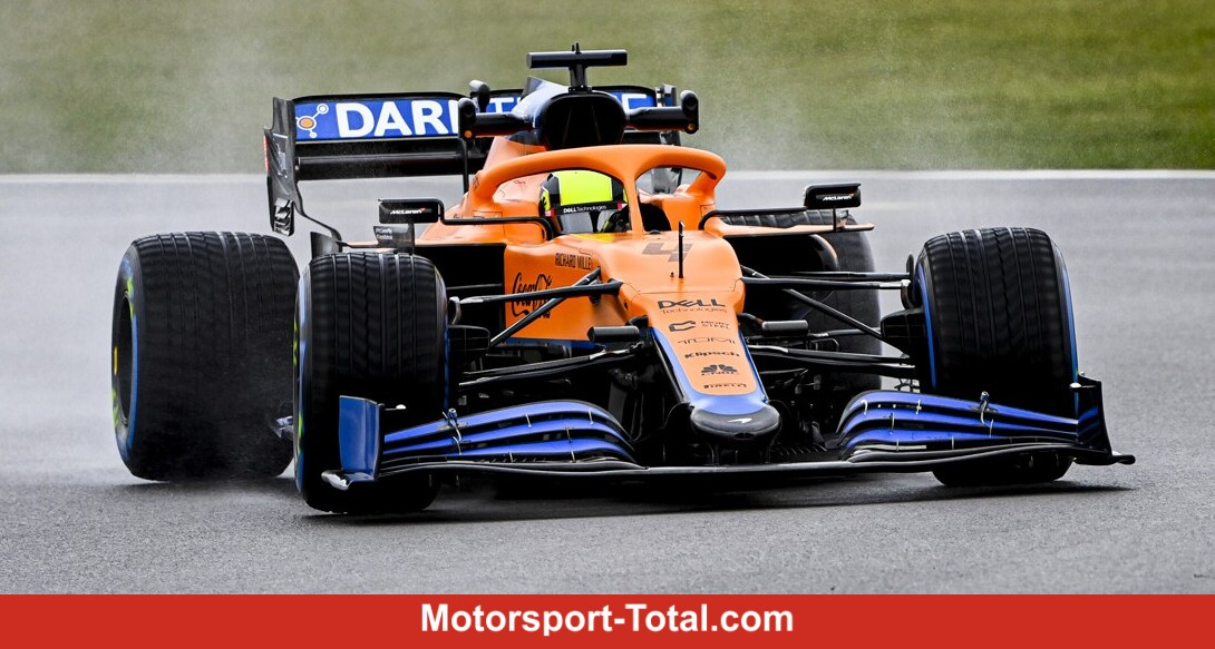 McLaren-Mercedes-MCL35M-Shakedown: