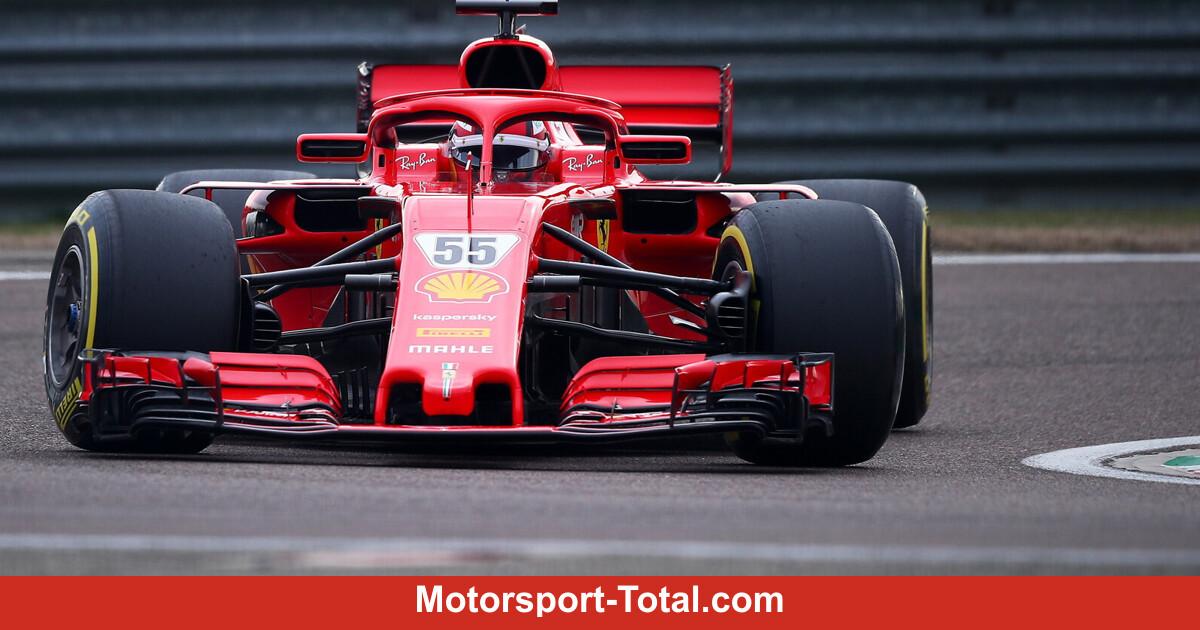 Unfall beim Pirelli-Reifentest in Jerez? Ferrari-Pilot Sainz wortkarg - Motorsport-Total.com