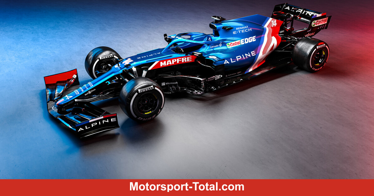 Mit neuem Auto, aber ohne Alonso: Alpine launcht den A521 - Motorsport-Total.com