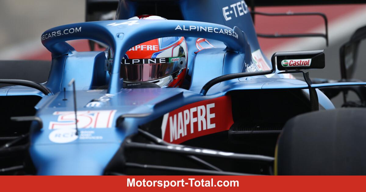 Nach Alpine-Filmtag: Das wünscht sich Esteban Ocon vom A521 - Motorsport-Total.com