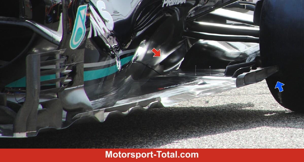 Split-Unterboden am W12! Ist Mercedes schon wieder allen voraus? - Motorsport-Total.com