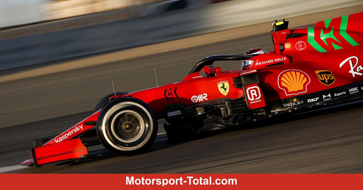 Ferrari Sponsor Erklärt Darum Ist Das Grüne Logo Auf Dem Sf21