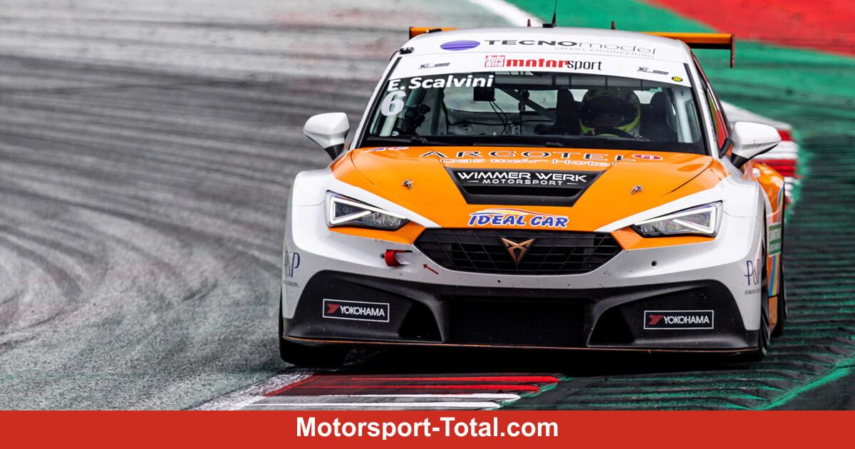 TCR Germany Spielberg 2021: Start-Ziel-Sieg für Cupra-Pilot Eric Scalvini