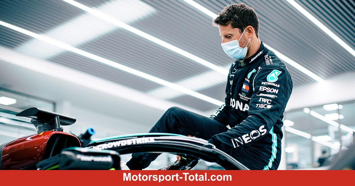Formel-1-Liveticker: Grosjean-Test mit Mercedes muss verschoben werden