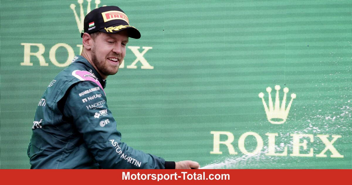 Formula 1 live recording: Sebastian Vettel: decide there!