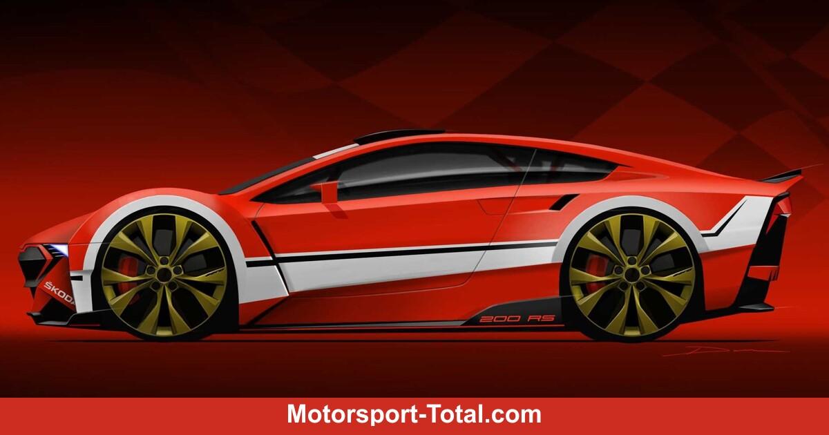 So cool könnte ein kleiner Sportwagen von Skoda aussehen