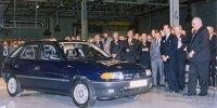 Zum 25. Astra-Jubiläum: Impressionen aus der Geschichte des Opel-Werks Eisenach
