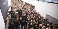Lewis Hamilton: Weltmeister-Empfang bei Mercedes
