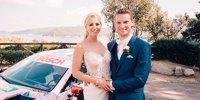 DTM-Mercedes als Hochzeitsauto: Maro Engel sagt