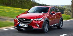 Aufgefrischt: Mazda 2 und Mazda CX-3