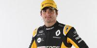 Carlos Sainz im Teamdress von Renault