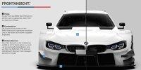 Vergleich: BMW M4 DTM 2017/18
