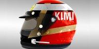 Formel-1-Helme im Stil der 1970er-Jahre