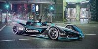 Das neue Formel-E-Auto von allen Seiten