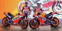 Die neue Honda von Weltmeister Marc Marquez