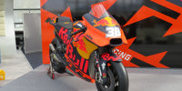 KTM zeigt die RC16 für die MotoGP-Saison 2018