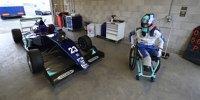 Billy Monger testet Formel-3-Auto