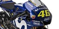 Rossi und Vinales stellen neue MotoGP-Yamaha vor