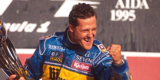 Alles neu bei Michael Schumachers Benetton-Team im Jahr 1995: Startnummer 1 des amtierenden Weltmeisters auf dem B195, leistungsstarke Renault- statt Ford-Motoren im Heck und Johnny Herbert als permanenter Stallkollege. Außerdem arbeitet Technikchef Tom Walkinshaw nicht mehr für Benetton, sondern für Ligier - weil FIA-Präsident Max Mosley nach der Benzinfilter-Affäre samt Boxenfeuer in Hockenheim 1994 ein Köpferollen verlangt hat.