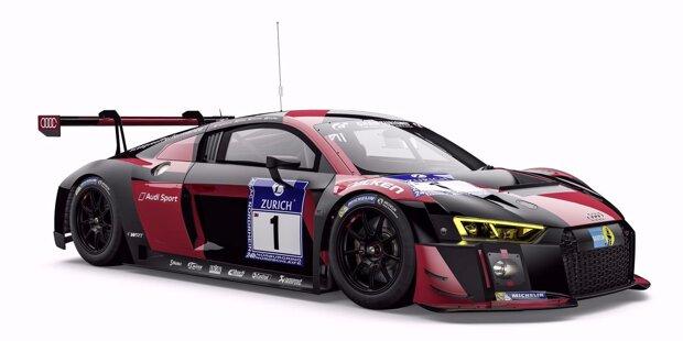 #1 (Audi Sport Team WRT), Pierre Kaffer/Christopher Mies/Nico Müller/Laurens Vanthoor