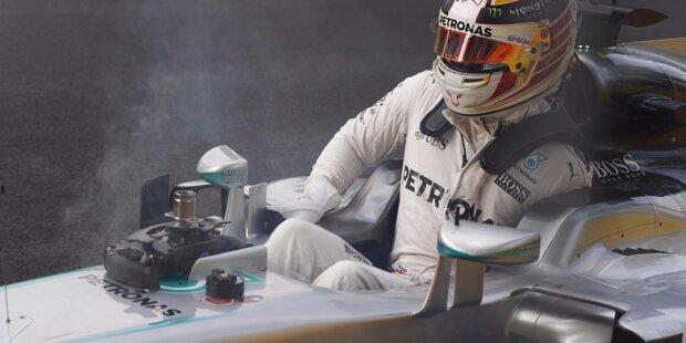 """Saisonsieg Nummer fünf für Nico Rosberg bei der Premiere in Aserbaidschan: Der Deutsche setzte sich auf dem neuen Straßenkurs in Baku in einem todlangweiligen Rennen durch, nachdem das Wochenende mit Hochspannung auf allen Ebenen begonnen hatte. Wir werfen einen Blick zurück auf die Highlights des sogenannten """"Europa-Grand-Prix""""."""
