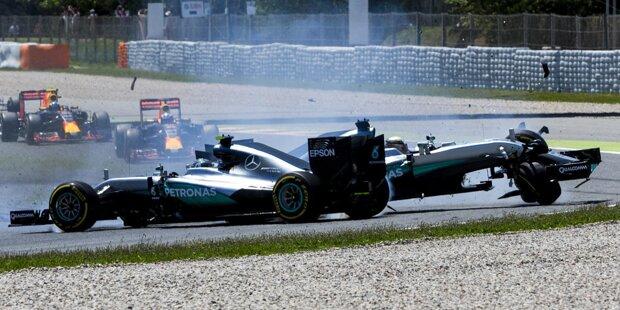 Bereits zum dritten Mal in Folge entscheidet sich das Titelduell in der Formel 1 wohl zwischen Nico Rosberg und Lewis Hamilton. Die beiden dominieren die Saison 2016 nach Belieben und schenken sich nichts. Nachdem es für den Deutschen zu Saisonbeginn sehr gut aussah, hat Hamilton das Blatt gewendet. Wir zeigen das Titelduell in Bildern.