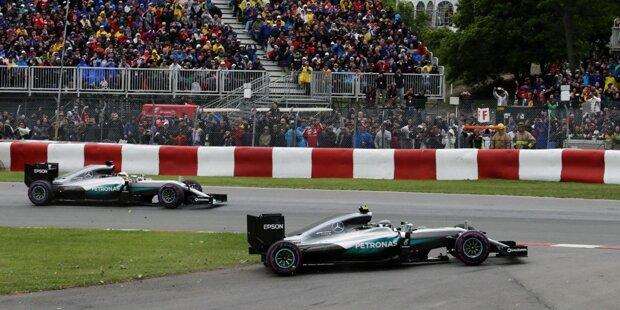Die Formel-1-WM 2016 ist wieder spannend: Lewis Hamilton kommt mit dem zweiten Saisonsieg bis auf neun Punkte an Nico Rosberg heran. Ferrari ist dank Turbo-Update wieder voll konkurrenzfähig. Und Valtteri Bottas steht in Montreal zum zweiten Mal hintereinander auf dem Podium.