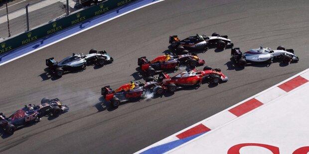 """Unaufhaltsam: Nico Rosberg gewinnt in Sotschi sein siebtes Formel-1-Rennen hintereinander. Das haben vor ihm nur Ascari, Schumacher und Vettel geschafft. Und noch niemand, der die ersten vier Saison-Grands-Prix gewonnen hat, wurde später nicht Weltmeister. Aber: """"Lewis wird zurückschlagen"""", warnt er vor dem Teamkollegen."""