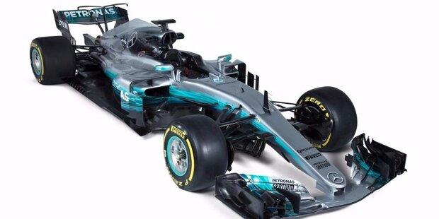 Mercedes-Benz F1 W08 EQ Power+
