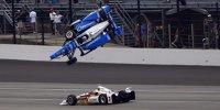 Indy 500 2017: Horrorcrash von Scott Dixon