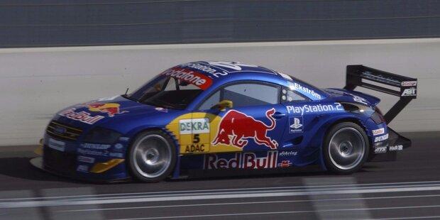 Im zarten Alter von 22 Jahren kommt Mattias Ekström zum zweiten Rennen der Saison 2001 in der DTM an. Er feiert gleich im ersten Jahr mit dem Audi TT von Abt einen Podestplatz.
