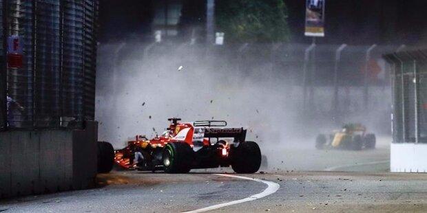 The winner takes it all! Lewis Hamilton sichert sich 2017 seinen vierten WM-Titel und zieht mit Sebastian Vettel und Alain Prost gleich. Obwohl der Brite den Titel am Ende vorzeitig gewinnt, hat Sebastian Vettel im WM-Kampf 2017 die Nase lange Zeit vorne. Wir blicken noch einmal zurück ...