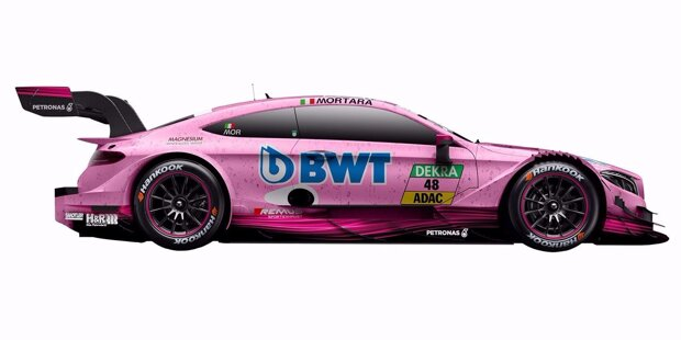 Wie alle Hersteller schickt auch Mercedes in der DTM-Saison 2017 nur noch sechs Autos an den Start. Wir zeigen, welcher Pilot in welchen Farben an den Start geht!