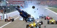 Heftigste Startunfälle der Formel-1-Historie