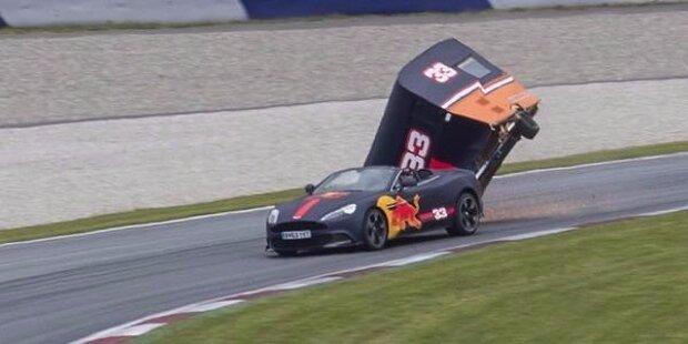 Ein Wohnwagenrennen auf dem Red-Bull-Ring? Klingt nach einer gemütlichen Sonntagsfahrt. Nicht aber, wenn Daniel Ricciardo und sein verwegener Teamkollege Max Verstappen am Werk sind. Der Niederländer sorgt ordentlich für Schrott! Doch vorerst hübsch der Reihe nach. Die Obersteiermark...