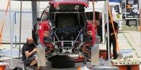 Die technische Wartung der Dakar-Fahrzeuge
