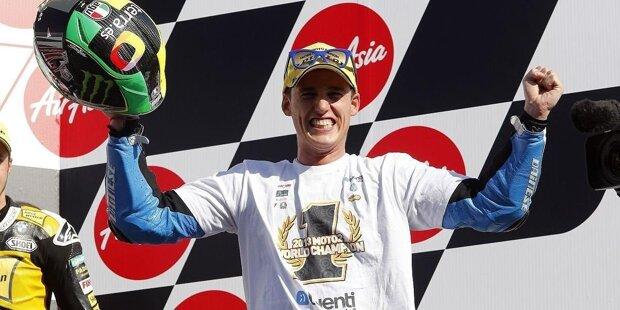 Pol Espargaro wurde am 10. Juni 1991 geboren und ist der jüngere Bruder von Aleix Espargaro. In der Moto2 wird er Weltmeister. In der Königsklasse fuhr er vier Jahre für KTM.