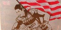Gedenkstätte für Nicky Hayden in Misano