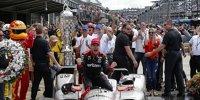 So feiert Indy-500-Sieger Will Power