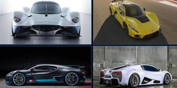 Ferrari, Porsche, Lamborghini? Sorry, nicht in dieser illustren Runde