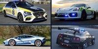Die 14 coolsten Polizeiautos der Welt