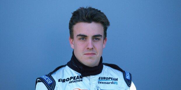Ein gewisser Fernando Alonso bestritt schon Formel-1-Rennen, als ...