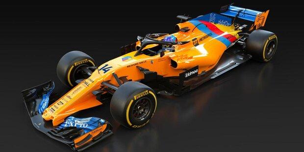 Fernando Alonsos Speziallackierung für sein Abschiedsrennen in Abu Dhabi