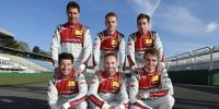 Die Audi-DTM-Piloten 2019
