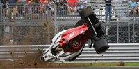 Horrorunfall von Marcus Ericsson in Monza