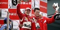 Die letzten 20 Siegfahrer der Formel 1