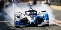 Die 11 neuen Formel-E-Autos beim Test in Valencia